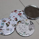 Compact Mirror With Birds, Butterflies Or Ducks