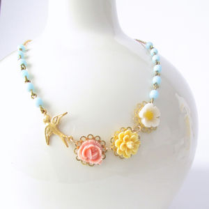 Posy Flower Necklace - necklaces & pendants