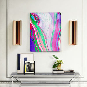 Tranquility, Multi Coloured Abstract Canvas Art - paintings & canvases