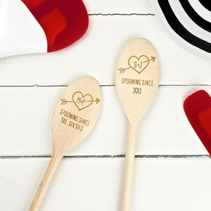 Personalised Love Spoon - gifts for couples