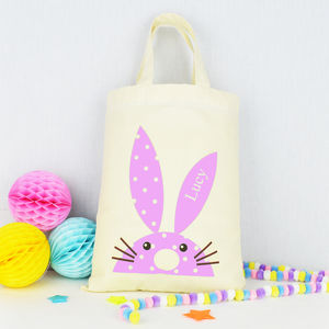 Personalised Easter Egg Hunt Party Bag - children's easter