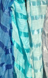 Ethical Silk And Linen Sarong Scarf Ten Colours