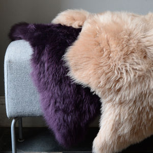 Hand Dyed Devon Sheepskins - office & study
