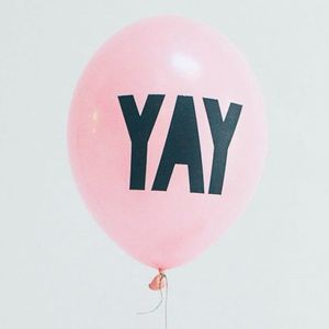 Yay Pink Balloons - children's parties