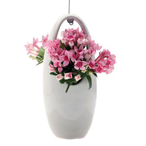 Ceramic Hanging Egg Shaped Vase - easter homeware