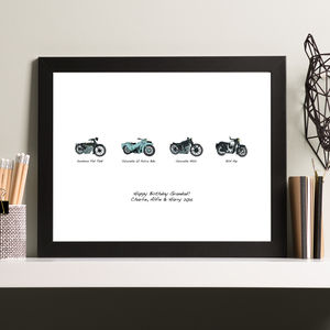 Personalised 'Motolution' Print - gifts sale