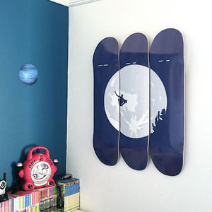 Skateboard Wall Art E.T. Skateboarder - view all sale items