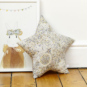 Adelajda Liberty Star Cushion - baby's room