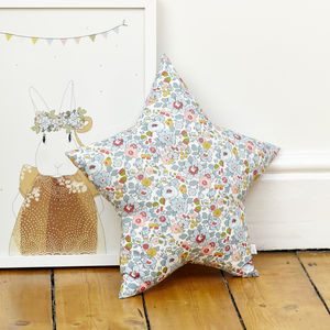 Betsy Pastel Liberty Star Cushion