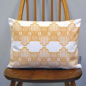 Ornamental Wave Cushion