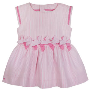 Girls Designer Summer Bow Dress - weddings sale