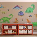 Childrens Dinosaur Wall Stickers