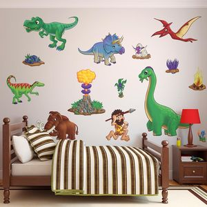 Childrens Dinosaur Wall Stickers Pack Two