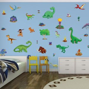 Childrens Dinosaur Wall Stickers Small Pack