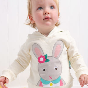 Betty The Bunny Hooded Sweatshirt