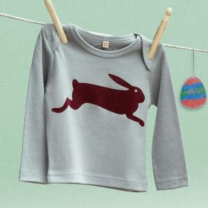 Easter Hare Long Sleeved T Shirt