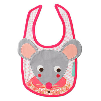 Margot The Mouse Bib