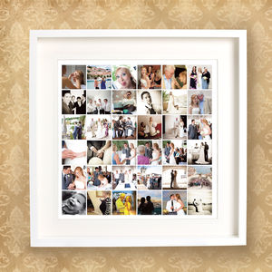 Wedding Day Memories Print