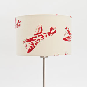 'Spitfires' Aeroplane Lampshade - lighting