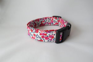 Tiggy Liberty Fabric Dog Collar - dog collars