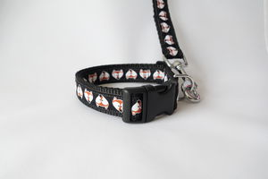 Fantastic Mr Fox Dog Collar And Lead Set - dog leads & harnesses