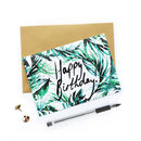 Tropical Paradise Happy Birthday Card