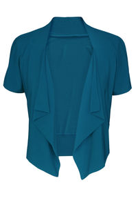 Cairo Jacket Top Teal - coats & jackets