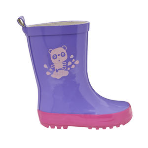 Child's Colour Changing Panda Wellington Boots - baby & child
