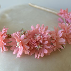 Bridesmaid's Floral Headbands - children's accessories