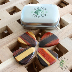 Zone Tones Guitar Picks / Plectrums In A Gift Tin