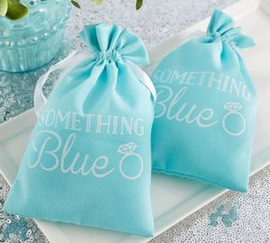 'Something Blue' Favour Bag - wedding favours