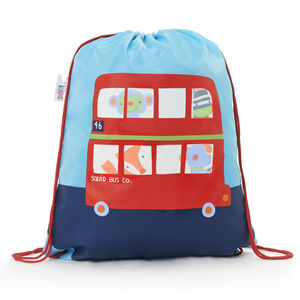 Child's Colour Changing Bus Drawstring Bag - girls' bags & purses