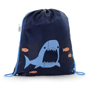 Child's Colour Changing Shark Drawstring Bag