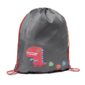 Child's Colour Changing Dino Drawstring Bag