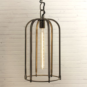 Wrought Iron Tube Light