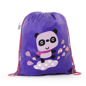 Child's Colour Changing Panda Drawstring Bag