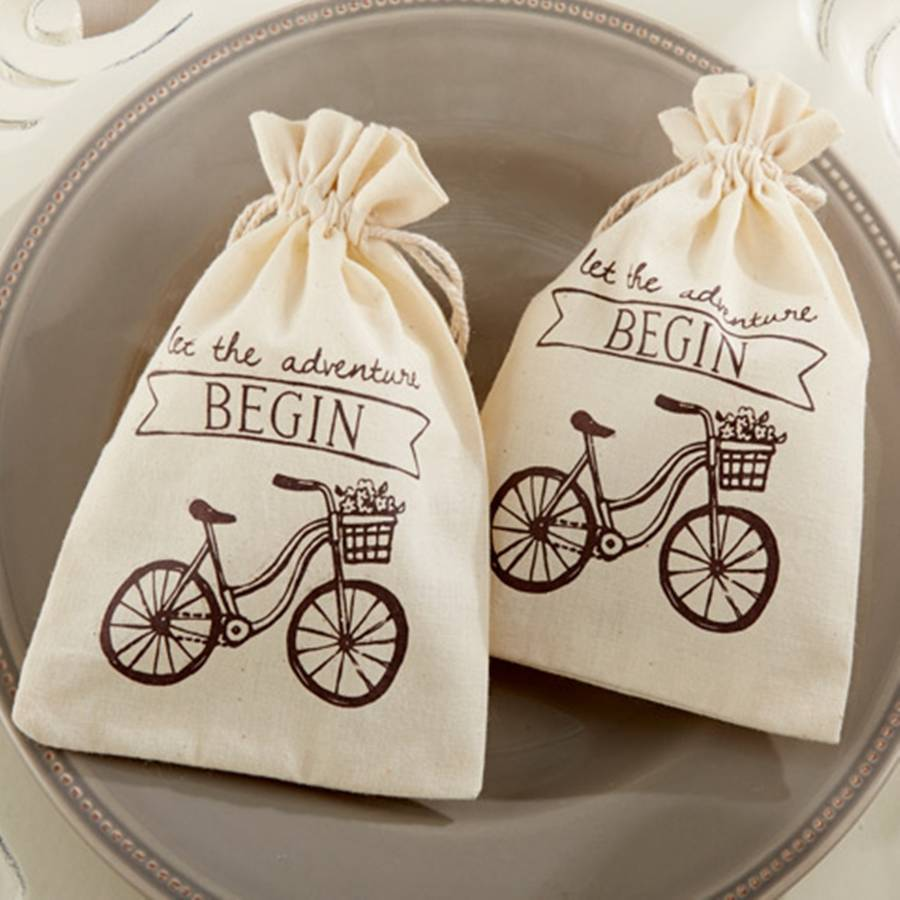 let the adventure begin\' vintage inspired favour bag by oli & zo ...