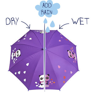 Child's Colour Changing Panda Umbrella