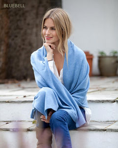 Knitted Cashmere Wrap