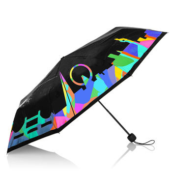 Colour Changing London Skyline Umbrella