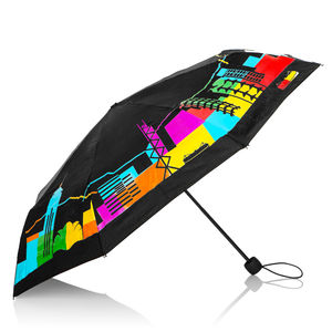 Colour Changing Hong Kong Skyline Umbrella