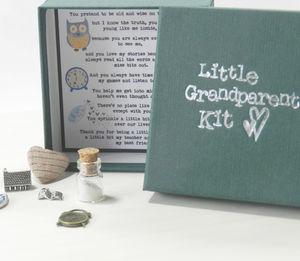 Personalised 'Little Grandparent Kit'