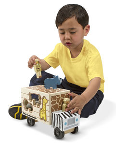 Animal Rescue Shape Sorter