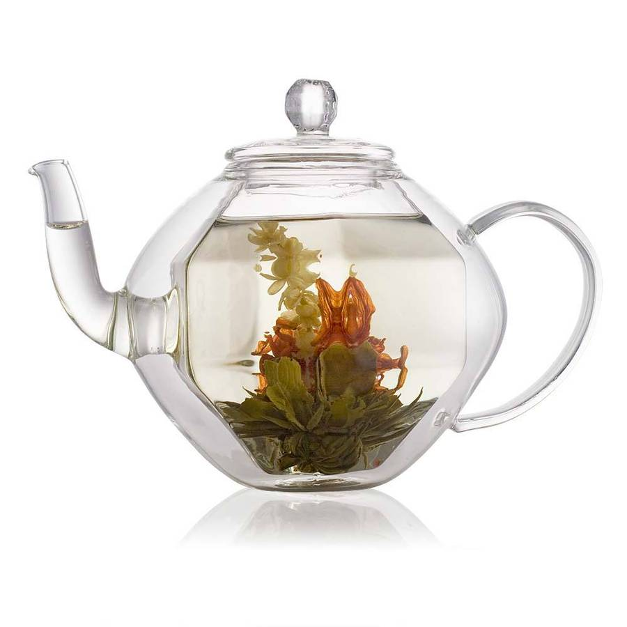 Cooltouch Double Wall Glass Teapot By The Exotic Teapot