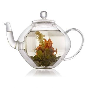 Double Wall Glass Teapot 750ml - teapots