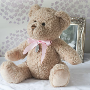New Baby Girl Personalised Bramble Bear - shop by price