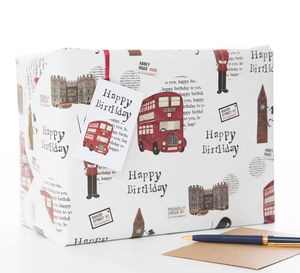 London Gift Wrap - view all sale items