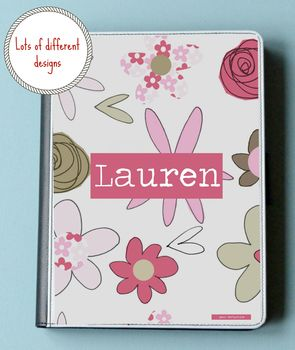 Personalised Tablet/ iPad Case Various Designs
