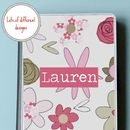 Girl's Personalised Tablet/ iPad Case