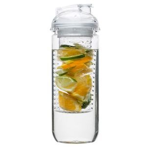 Water Bottle With Fruit Piston - picnics & bbq's